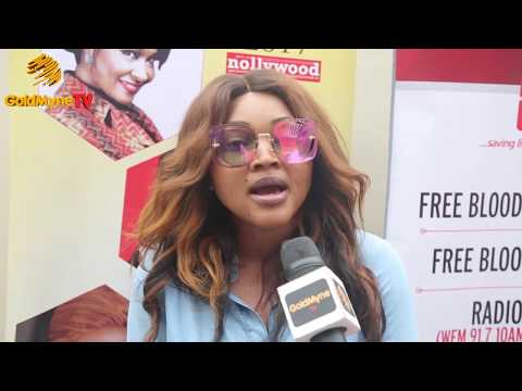 MERCY AIGBE, YOMI FABIYI AT BON'S FREE HEALTH CARE DIAGNOSIS FOR NOLLYWOOD PRACTITIONERS