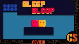 BLEEP BLOOP - PS4 REVIEW (Video Game Video Review)