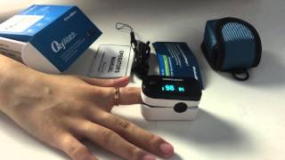 How to use  ChoiceMMed MD300C2F fingtertip pulse oximeter as a must have in home