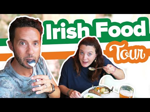 EATING IRISH FOOD!!!  🇮🇪🍀4 Must Try Dishes In Dublin