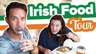 americans try irish food