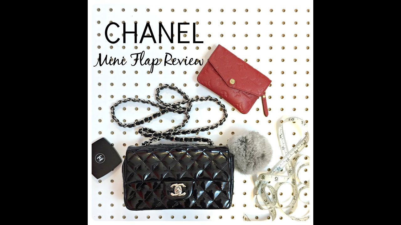 e6eeeade7875 CHANEL Mini Flap Review + What You Can Fit Inside