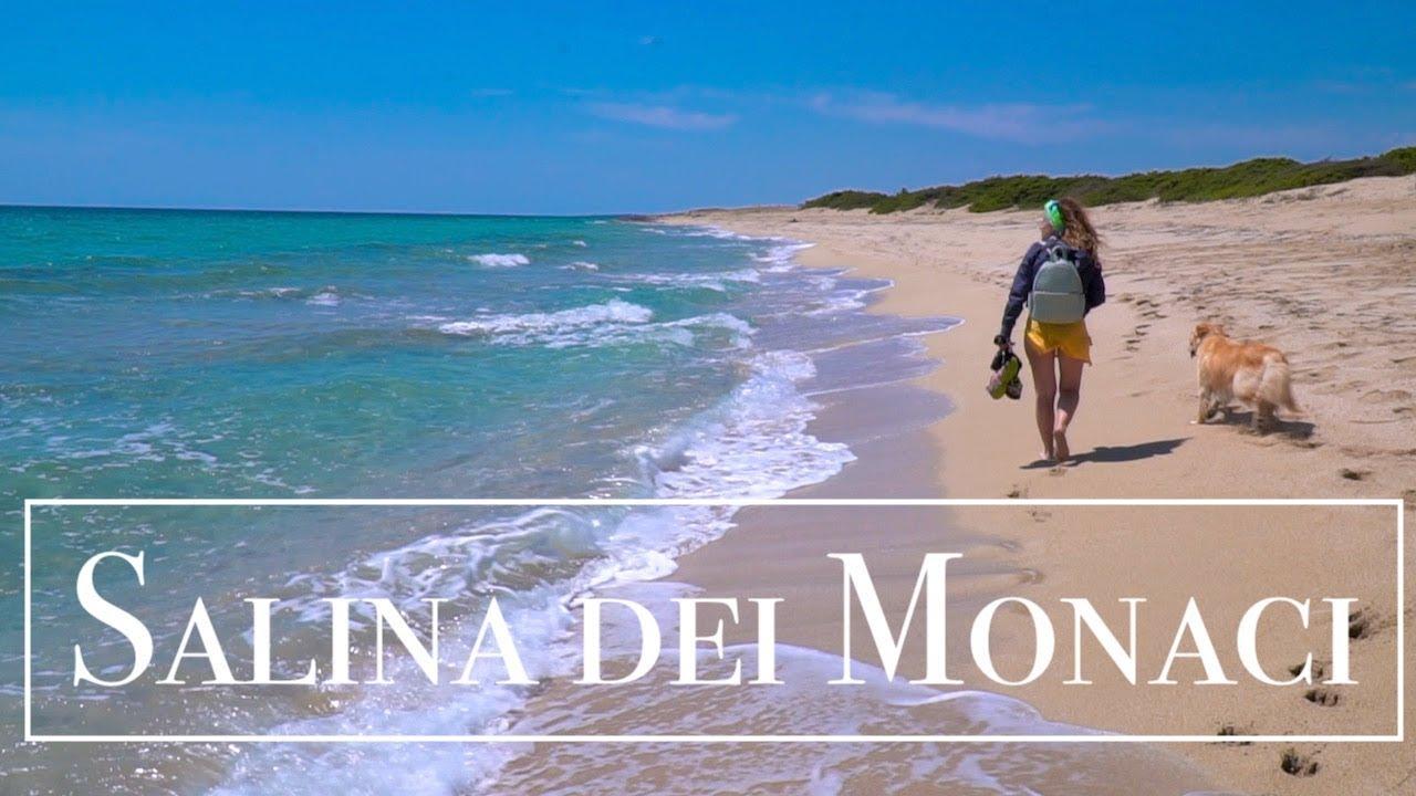 Viaggi in camper - SALINA DEI MONACI - Torre Colimena (TA) - YouTube