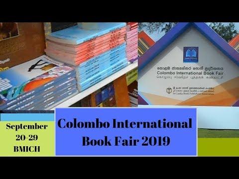 Colombo International Book Fair 2019