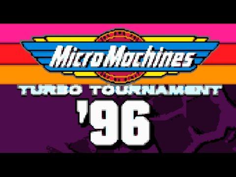 [Eng] Micro Machines Turbo Tournament '96 - Complete Walkthrough (Sega Genesis) [1080p][EPX+]