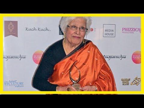 Breaking News | Llanidloes' Jamila Massey honoured at UK Asian Film Festival