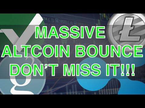 TOP 10 Altcoins Post Bitcoin Fork (HUGE BOUNCE, DON'T MISS IT!)