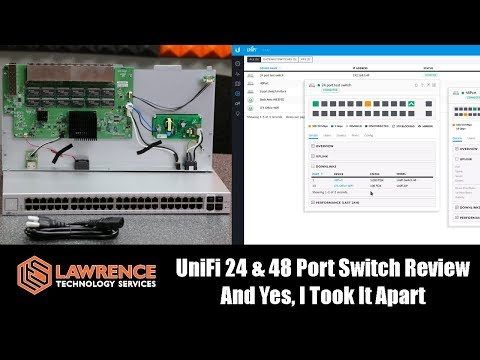 UniFi 24 & 48 Port Switch Review And Yes, I Took It Apart