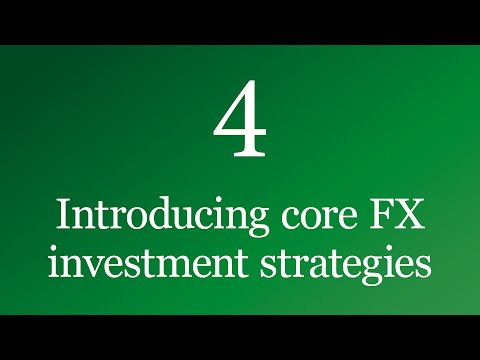 Introducing core FX investment strategies - Currencies decoded