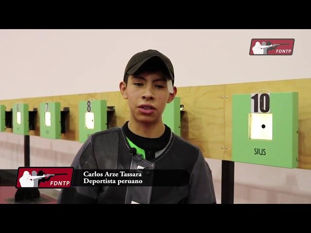 Carlos Arze clasificó a Juegos Olímpicos de la Juventud Buenos Aires 2018