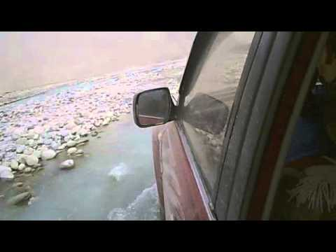 Driving in the Wakhan corridor, Afghanistan