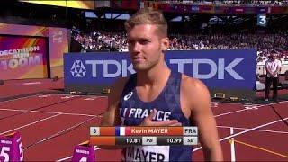 Mondiaux d'athlétisme : Le résumé du parcours de Kevin Mayer au décathlon