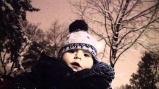 Toddler Sled - My Toddler Son's First Time on a Sled