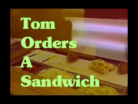 The Tom Green Show - Tom Orders a Sandwich