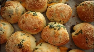 Garlic Cheese Bombs - Episode 478 - Baking with Eda