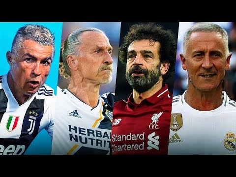 Угадай футболиста по FaceApp l Азар, Мбаппе, Гризманн, Рамос, Роналду в старости
