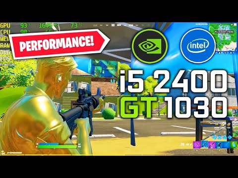 Fortnite Performance Mode | I5 2400 GT 1030 | Low Textures 1080p