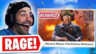Reacting To My Own Warzone Meme Montage.. 🤣