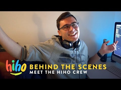 Meet the HiHo Crew | Behind the Scenes | HiHo Kids