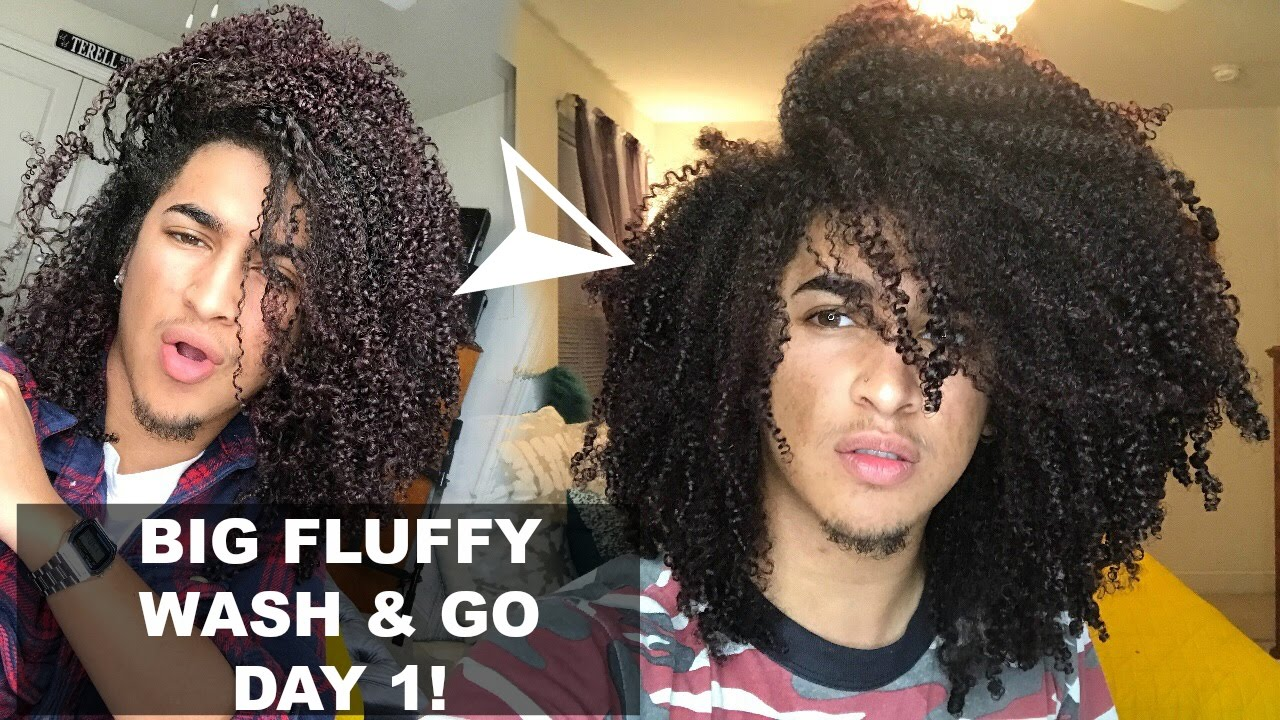 natural hair styles for graduation big fluffy wash amp go on day 1 and 7969 | maxresdefault