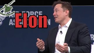 elon Musk Fireside Interview Chat with U.S. Air Force 2020