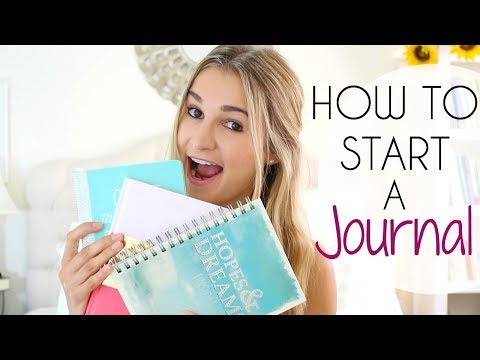How to Start a Journal (Quick + Easy Steps)
