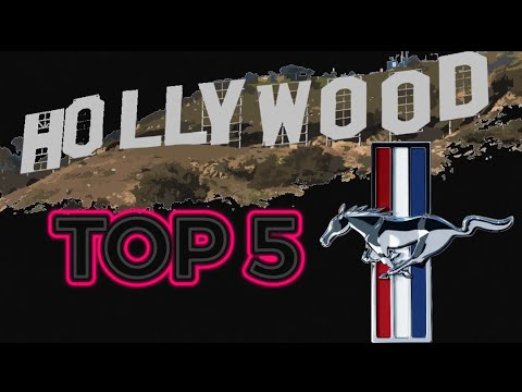 Top 5 MUSTANGs in Movie History! (2019 OSCAR Edition)