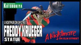 Kotobukiya A Nightmare on Elm Street 4 Freddy Krueger ArtFX Statue   Video Review HORROR