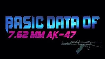 Basic Data of 7.62 mm AK 47 or AKM Rifle || Technical Data