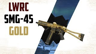 Warface NEW GOLD LWRC SMG-45 RU PTS