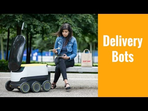 Delivery Bots from Starship Technologies