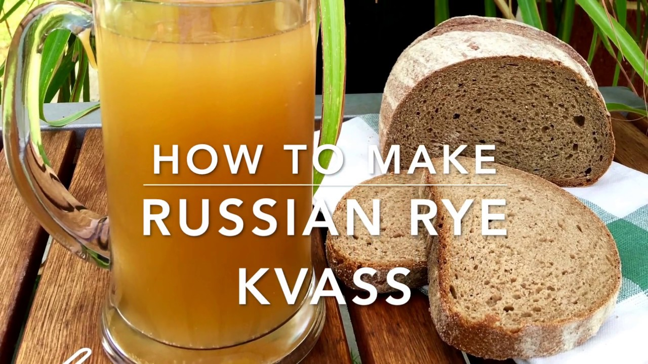 How to cook kvass from rye flour - 4 step by step recipe 99