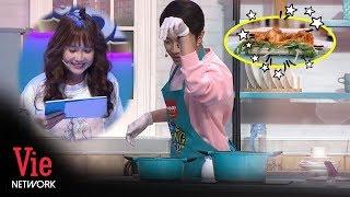 Cùng Cris Devil Và Bạn Gái Hot Girl Làm Món Sandwich Tôm Xốt Xoài Ngon Tuyệt l VieTalents Official