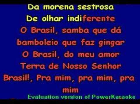 AQUARELA DO BRASIL - GAL COSTA