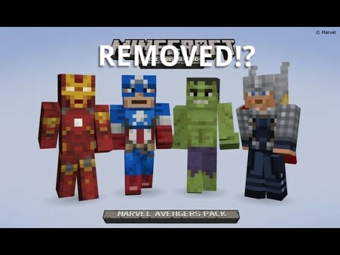 minecraft marvel skin pack xbox 360 download