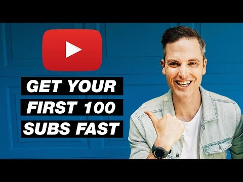 🔴 How to Get Your First 100 Subscribers on YouTube