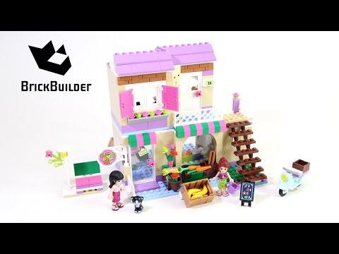 Download Lego Friends 41108 Heartlake Food Market - Lego Speed Build