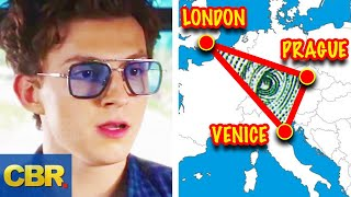 The Real Reason Why Those Cities Were Chosen For Spider-Man Far From Home