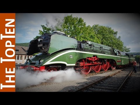 The Top Ten Beautiful Streamlined Steam Locomotives