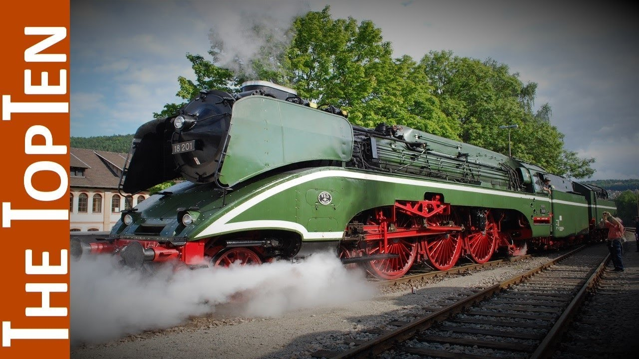 European Heritage Steam Locomotives Are Alive And Well ...
