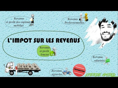 Fiscalité : Impôt sur les revenus partie 2 ( revenus et profit foncier)