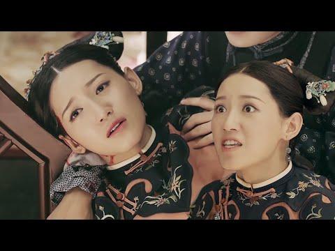 【傅恒休妻】傅恒寫休書趕走爾晴,爾晴死活不肯撞桌子頭破血流♥中國電視劇 |Story of Yanxi Palace
