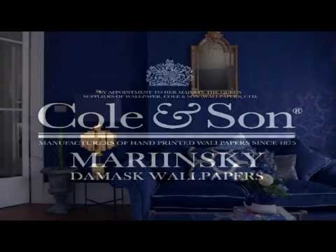 Cole and Son Mariinsky Damask Wallpapers