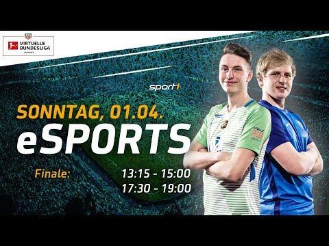 LIVE 🔴 | FIFA 18 Finale Deutsche Meisterschaft | TAG Heuer Virtuelle Bundesliga | SPORT1