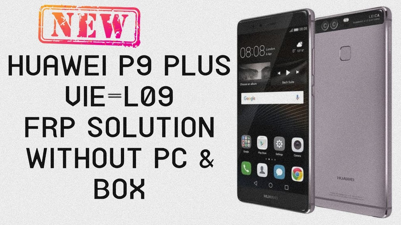 huawei p9 plus frp bypass how to remove google account on vie-l09 2019