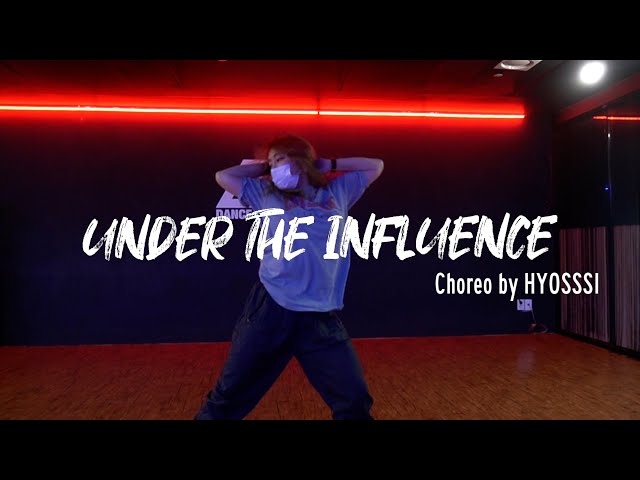 EZDANCE I 동탄점 I 이지댄스 I Chris Brown - 'Under The Influence' CHOREOGRAPHY by HYOSSSI