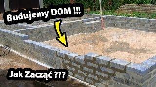 Rozpoczynamy Budowę Domu !!! - Jak to Wygląda? (Część 1/47)