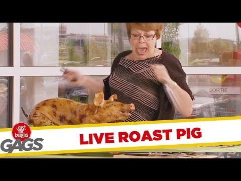 Roast Pig Comes to Life