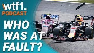Verstappen vs. Ocon | Was Esteban 100% At Fault? | WTF1 Podcast #20