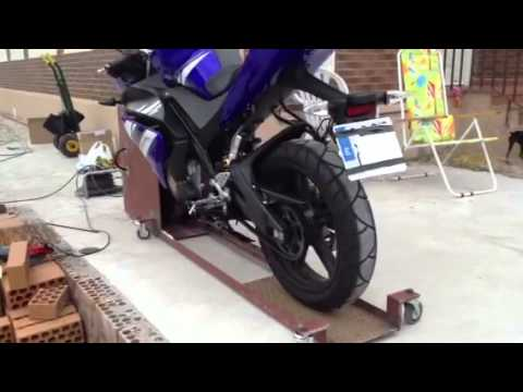 Antirrobo para moto giratorio youtube - Antirrobo moto garaje ...